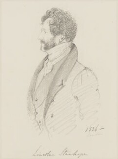 Lincoln Stanhope, by Alfred, Count D'Orsay - NPG 4026(53)