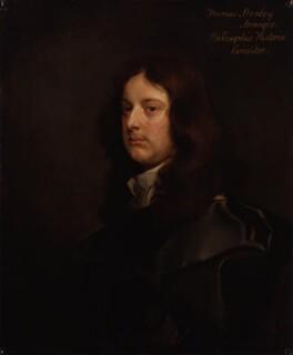 Thomas Stanley, by Gilbert Soest - NPG 166