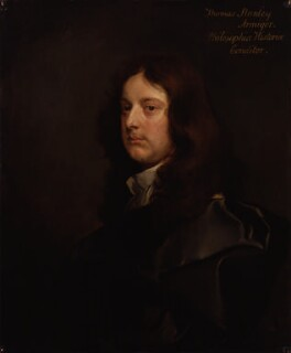 Thomas Stanley, by Gilbert Soest, circa 1660 - NPG  - © National Portrait Gallery, London