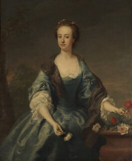 Anne (née Waller), Lady Stapylton, by Andrea Soldi - NPG 2505
