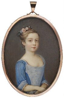 Mary Steele, by Unknown artist - NPG 1506d