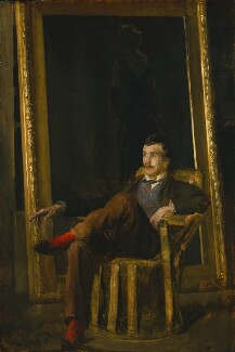 Philip Wilson Steer, by Walter Richard Sickert, circa 1890 - NPG 3116 - © National Portrait Gallery, London