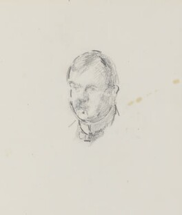 Philip Wilson Steer, by Henry Tonks - NPG 3072(3a)