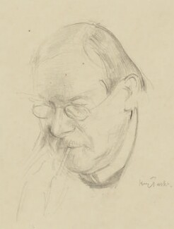 Philip Wilson Steer, by Henry Tonks - NPG 5088