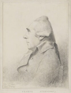 George Steevens, by George Dance - NPG 1160