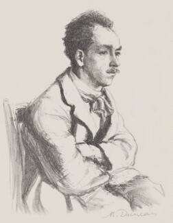 James Stephens, by Mary Duncan - NPG 3989