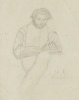 Alfred George Stevens, by Alfred George Stevens - NPG 1526