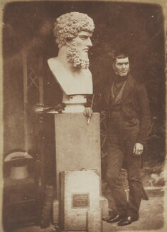 John Stevens, by David Octavius Hill, and  Robert Adamson - NPG P6(93)