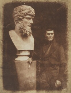 John Stevens, by David Octavius Hill, and  Robert Adamson - NPG P6(57)