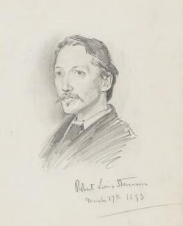 Robert Louis Stevenson, by Percy Frederick Seaton Spence, 1893 - NPG 1184 - © National Portrait Gallery, London