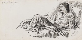 Robert Louis Stevenson, by Harry Furniss - NPG 3518
