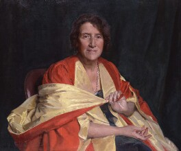 Marie Stopes, by Sir Gerald Kelly, 1953 - NPG  - © National Portrait Gallery, London