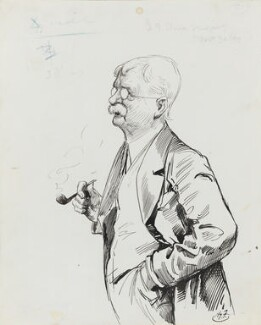 George Adolphus Storey, by Harry Furniss - NPG 3520