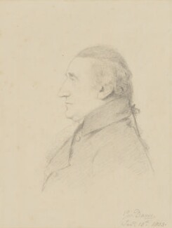 William Scott, Baron Stowell, by George Dance - NPG 1156