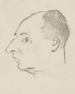 John Strachey, by Sir David Low - NPG 4529(342)