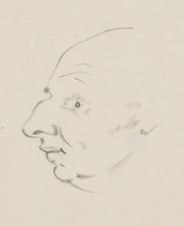 John Strachey, by Sir David Low - NPG 4529(343)