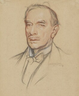 John St Loe Strachey, by William Rothenstein - NPG 4795