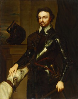 Thomas Wentworth, 1st Earl of Strafford, after Sir Anthony van Dyck - NPG 1077