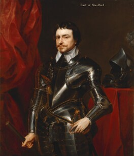 Thomas Wentworth, 1st Earl of Strafford, after Sir Anthony van Dyck - NPG 2960