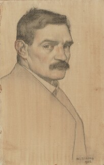 William Strang, by William Strang, 1902 - NPG  - © National Portrait Gallery, London