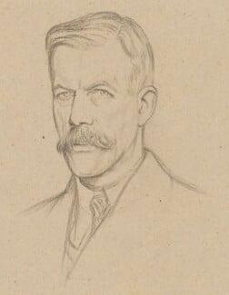 Arthur Henry Fox Strangways, by William Rothenstein - NPG 6696