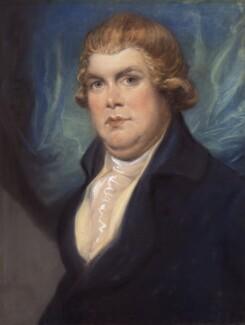 Joseph Strutt, by Ozias Humphry, 1791-1797 - NPG 323 - © National Portrait Gallery, London