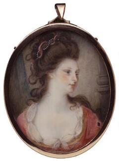 Elizabeth Stuart (née Blackstone), by Unknown artist - NPG 55b