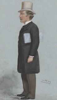 Charles Beilby Stuart-Wortley, 1st Baron Stuart of Wortley, by Sir Leslie Ward - NPG 4627
