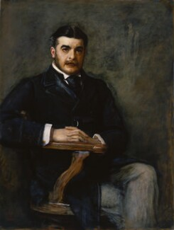 Sir Arthur Seymour Sullivan, by Sir John Everett Millais, 1st Bt - NPG 1325