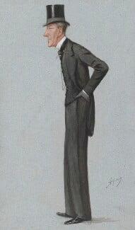 Sir Edward Robert Sullivan, 5th Bt, by Carlo Pellegrini - NPG 3270