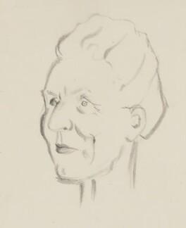 Edith Summerskill, Baroness Summerskill, by Sir David Low - NPG 4529(352)