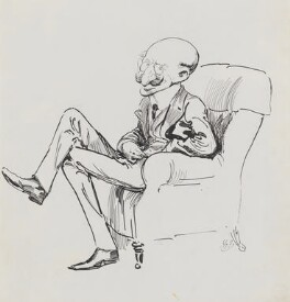 Alfred Sutro, by Harry Furniss - NPG 3521
