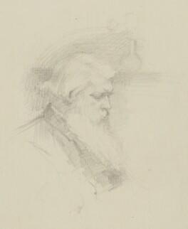 Sir Joseph Wilson Swan, by Minnie Agnes Cohen - NPG 1781c