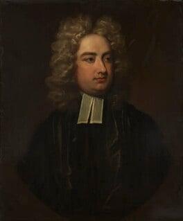 Jonathan Swift, by studio of Charles Jervas, based on a work of 1709-1710 - NPG 4407 - © National Portrait Gallery, London