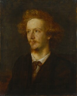Algernon Charles Swinburne, by George Frederic Watts - NPG 1542