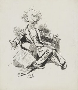 Algernon Charles Swinburne, by Harry Furniss - NPG 3611