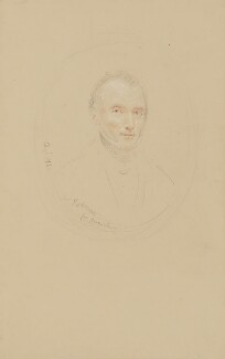 Litchfield Tabrum, by John Linnell - NPG 1818a