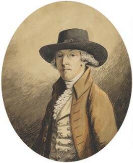 Unknown man, formerly known as Richard Tattersall, by 'JCB' - NPG 2357