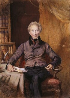 John Shore, 1st Baron Teignmouth, by George Richmond - NPG 5145
