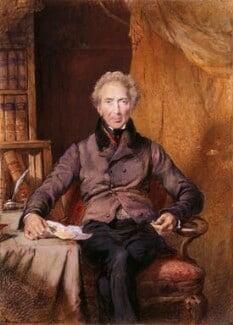 John Shore, 1st Baron Teignmouth, by George Richmond, 1832 - NPG 5145 - © National Portrait Gallery, London