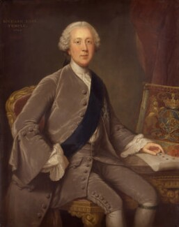 Richard Grenville-Temple, 2nd Earl Temple, by William Hoare, circa 1757-1760 - NPG 258 - © National Portrait Gallery, London