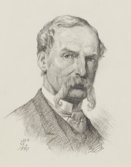 Sir John Tenniel, by Sir John Tenniel - NPG 2818