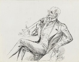 Sir John Tenniel, by Harry Furniss - NPG 3525