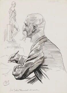 Sir John Tenniel, by Harry Furniss - NPG 3526
