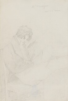 Alfred, Lord Tennyson, attributed to James Spedding - NPG 3940