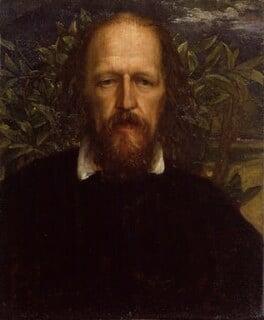 Alfred, Lord Tennyson, by George Frederic Watts, circa 1863-1864 - NPG 1015 - © National Portrait Gallery, London