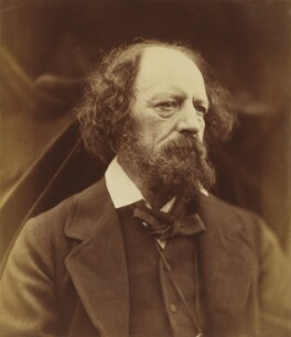 Alfred, Lord Tennyson, by Julia Margaret Cameron, 3 June 1869 - NPG P9 - © National Portrait Gallery, London