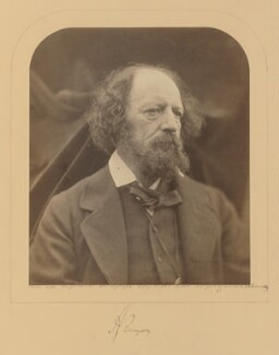 Alfred, Lord Tennyson, by Julia Margaret Cameron, 1869 - NPG P124 - © National Portrait Gallery, London
