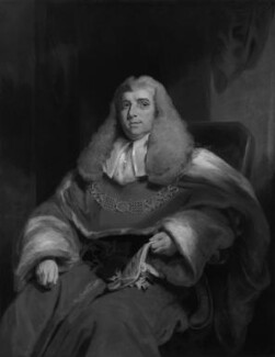 Charles Abbott, 1st Baron Tenterden, by John Hollins, after  William Owen - NPG 481