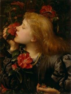 Ellen Terry ('Choosing'), by George Frederic Watts, 1864 - NPG 5048 - © National Portrait Gallery, London